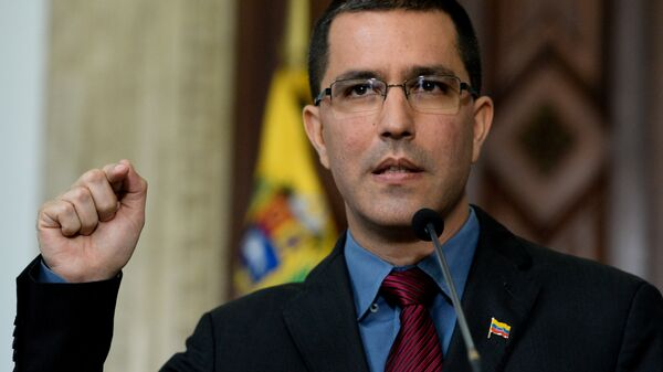 Глава МИД Венесуэлы Хорхе Арреас