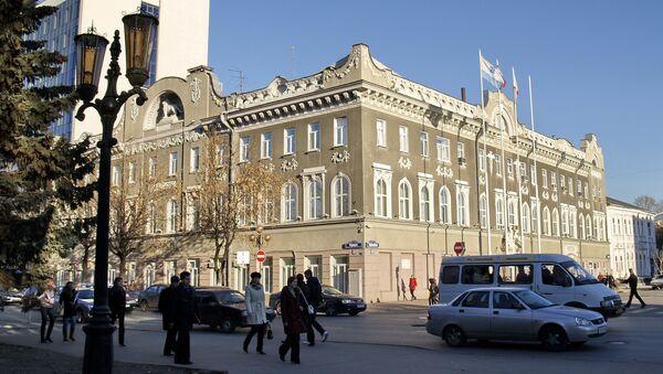 Здание администрации города Саратова на Первомайской улице. Архивное фото