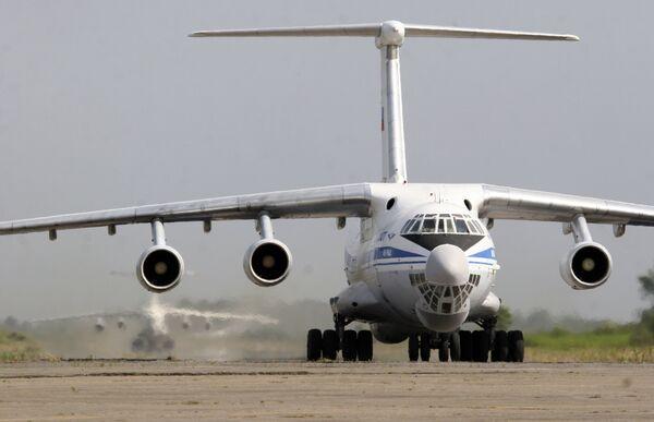 Российский самолет ИЛ-76. Архив