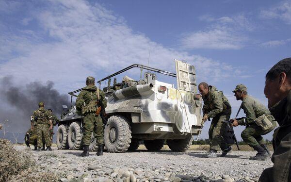 Масштабная спецоперация против боевиков началась в горной части Чечни