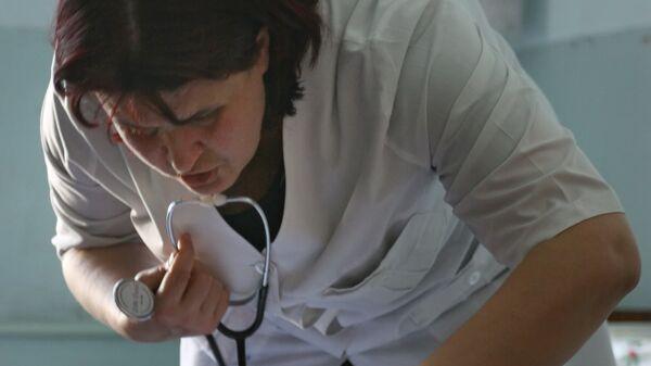 Медицинская помощь. Архивное фото