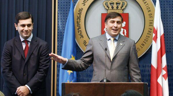 Саакашвили и Окруашвили. Архив
