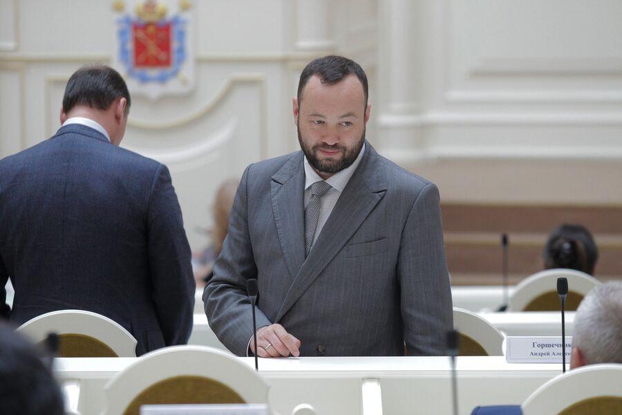 Депутат Законодательного собрания Санкт-Петербурга Андрей Анохин