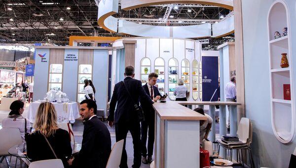 Стенд России на выставке дизайна интерьеров и товаров для дома Maison&Objet в Париже