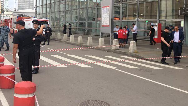 Эвакуация на Курском вокзале. 13 сентября 2017