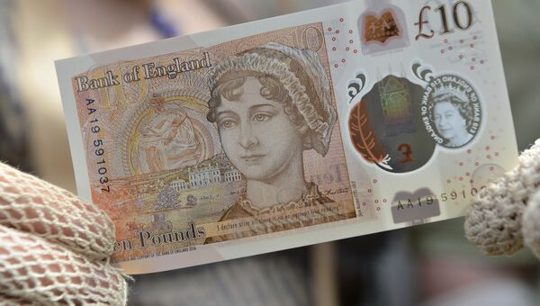 10-фунтовая купюра с изображением Джейн Остин