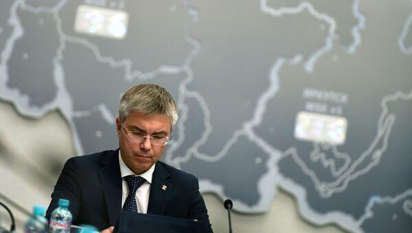Заместитель Секретаря генерального совета партии Единая Россия Евгений Ревенко. Архивное фото