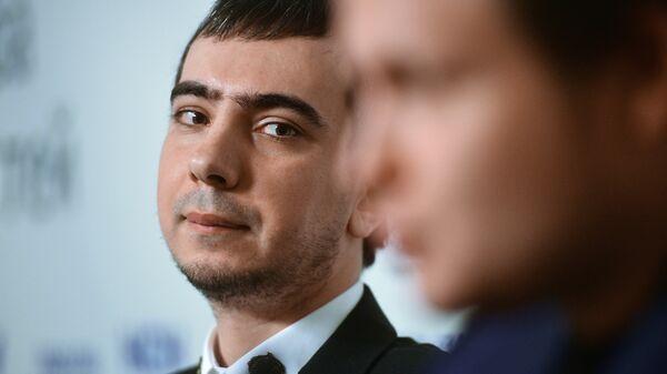 Пранкер Владимир Кузнецов на презентации книги Вован и Лексус. По ком звонит телефон в Москве
