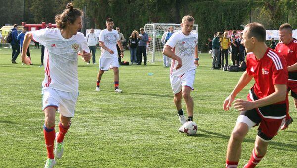 В Лужниках прошел фестиваль Россия любит футбол