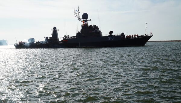 Российский военный корабль. Архивное фото