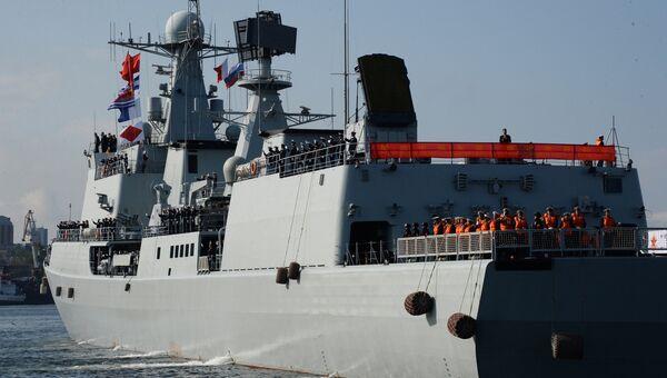 Эсминец ВМС Китая. Архивное фото