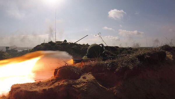 Учения Запад-2017: военные России и Белоруссии уничтожили диверсантов