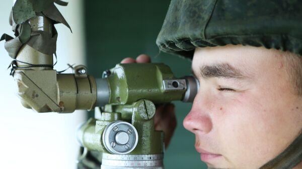 Тактическое учение мотострелков