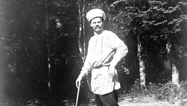 Максим Горький в Финляндии. 1904 - 1905 годы.