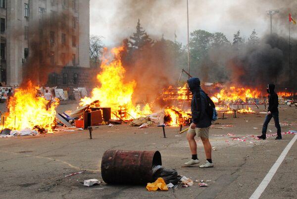 Одесская трагедия: пять лет спустя виновных не нашли