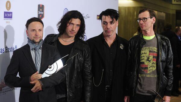 Немецкая рок-группа Rammstein. Архивное фото