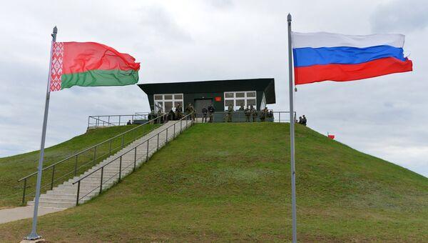 Командный пункт на Осиповичском полигоне в Могилевской области во время учений  Запад-2017