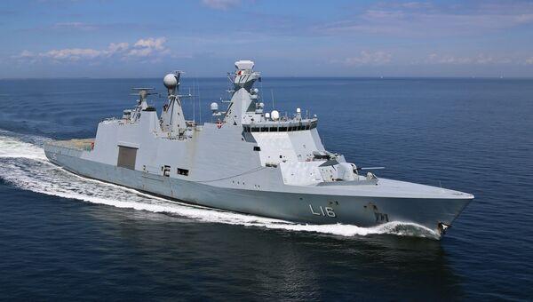 Корабль управления и поддержки Absalon ВМС Дании. Архивное фото