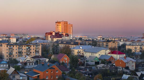 Города России. Оренбург. Архивное фото