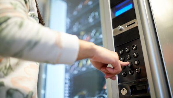 Вендинговый автомат. Архивное фото
