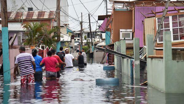 Последствия урагана Мария