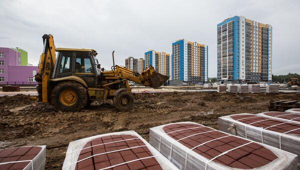 Строительство жилого комплекса рядом со стадионом Мордовия Арена в Саранске