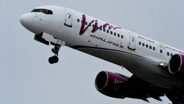 Самолет Boeing 757-200 авиакомпании ВИМ-Авиа. Архивное фото