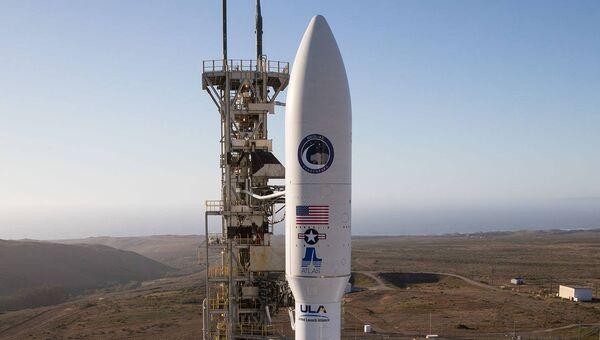 Ракета Atlas V на старте. 24 сентября 2017