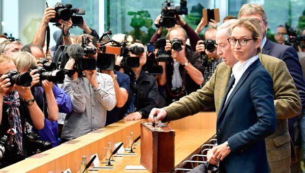 Лидеры крайнеправой партии Альтернатива для Германии. Архивное фото