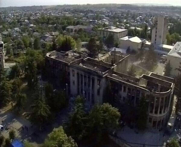 Разрушенный Цхинвали