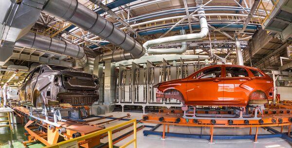 Производство Lada Vesta SW Cross