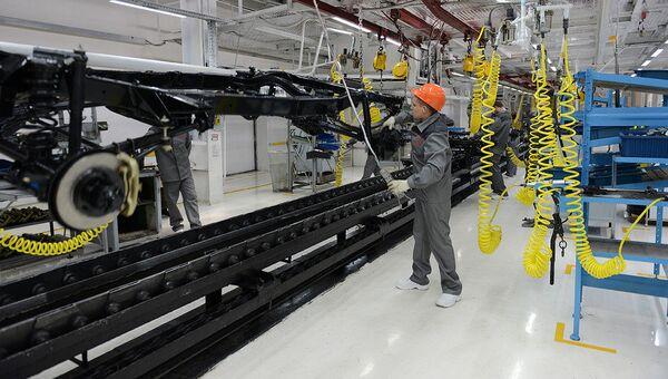 Производство автомобилей на Ульяновском автозаводе
