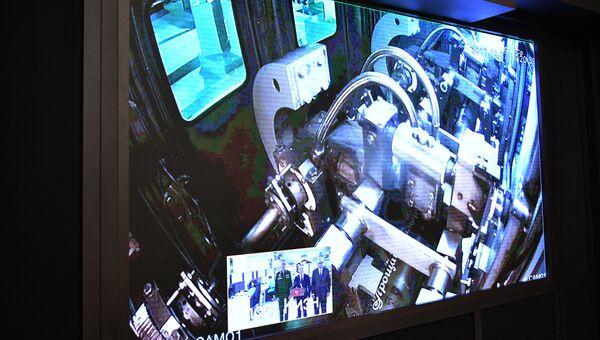 Трансляция технологического процесса уничтожения последнего химического боеприпаса в РФ. 27 сентября 2017