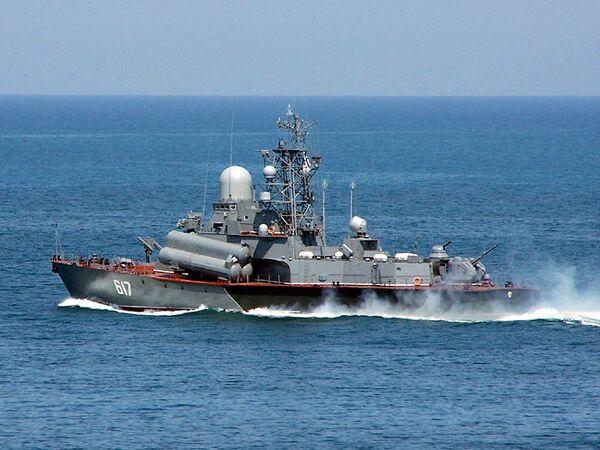 Малый ракетный корабль Мираж