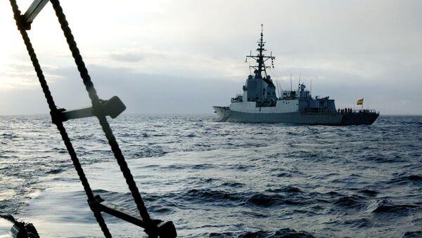 Корабль НАТО. Архивное фото