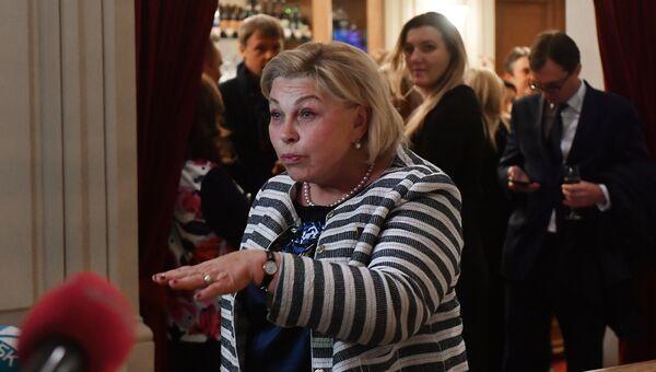Первый заместитель председателя комитета Государственной Думы РФ по культуре Елена Драпеко. Архивное фото