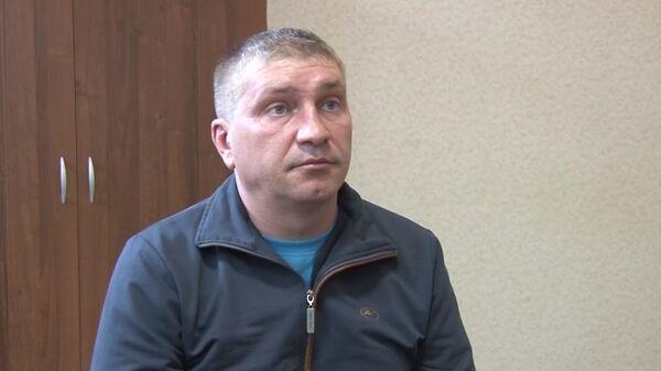 Дмитрий Долгополов, задержанный ФСБ РФ в Симферополе по обвинению в передаче спецслужбам Украины сведений, составляющих государственную тайну