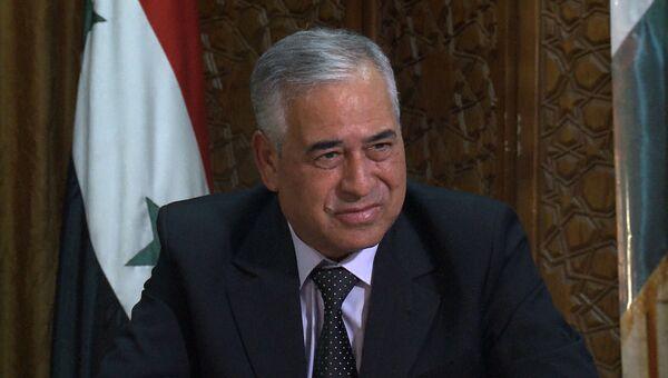 Губернатор провинции Дейр-эз-Зор Мохаммед ас-Самра