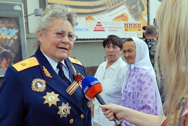 Акция Георгиевская ленточка начинается в Тюменской области