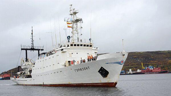 Гидрографическое судно Северного флота Горизонт
