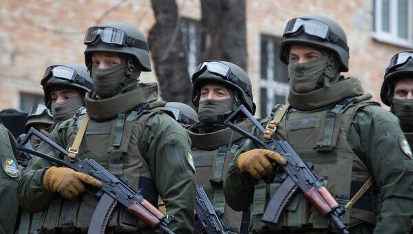 Сотрудники Управления специальных операций Национального антикоррупционного бюро Украины. Архивное фото