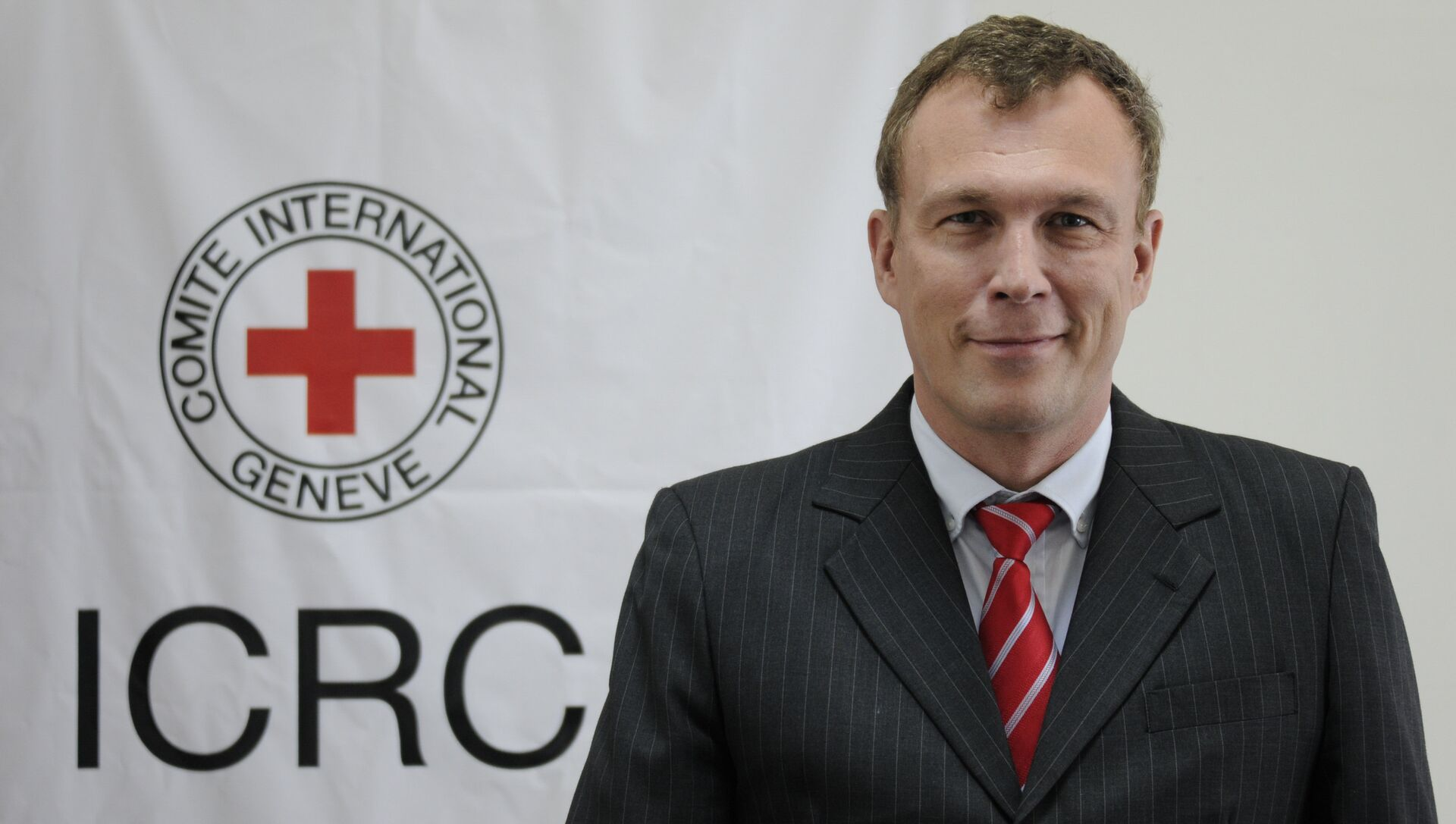 Глава делегации Международного комитета Красного Креста в Йемене Александр Фет - РИА Новости, 1920, 27.04.2018