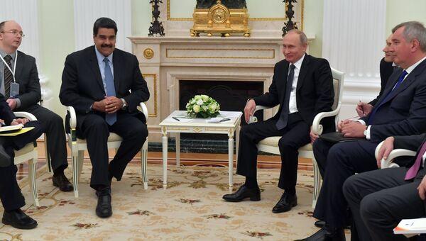 Встреча президента РФ Владимира Путина с президентом Венесуэлы Никалосом Мадуро. Архивное фото