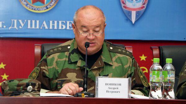 Руководитель Антитеррористического Центра государств - участников СНГ Андрей Новиков