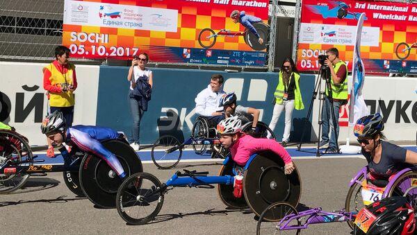 Забег на колясках становится авторитетным событием, считает Терентьев