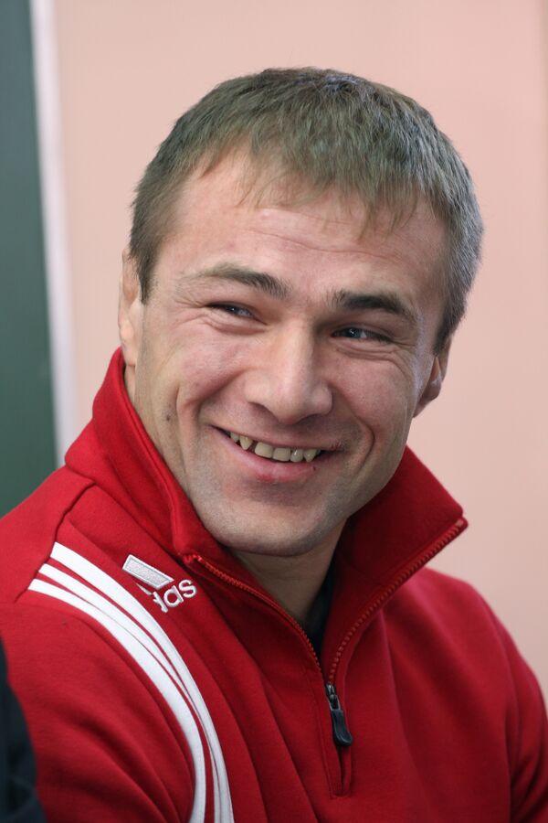 Чемпион Европы 2008 года по греко-римской борьбе в категории до 96 кг Асланбек Хуштов