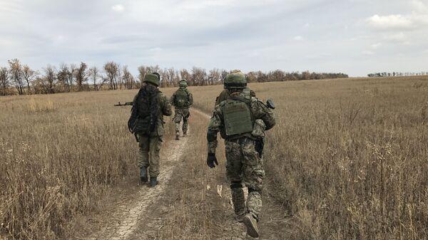 Бойцы разведывательно-штурмового батальона, Донбасс