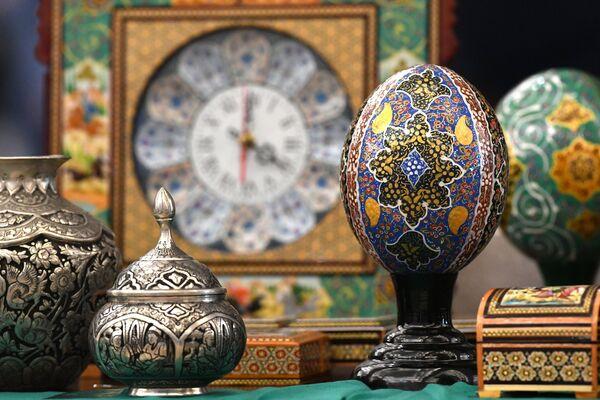 Украшения на XVIII Московском Международном конкурсе чтецов Корана в Москве