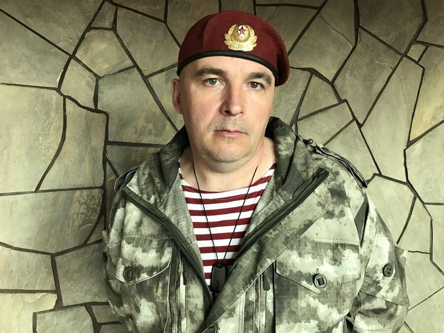Офицер разведывательно-штурмового батальона Алексей Петров, позывной Кац, Донбасс