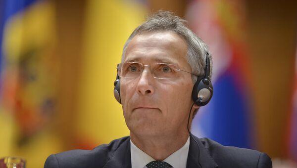 Генеральный секретарь НАТО Йенс Столтенберг. Архивное фото